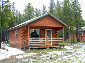 Photo: Our cabin, from the outside