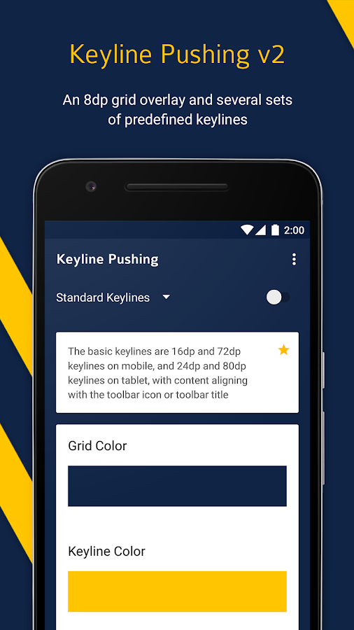 Keyline Pushing- screenshot