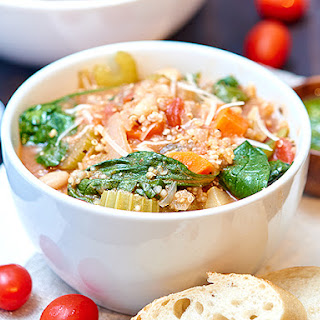 The Best Quinoa Minestrone