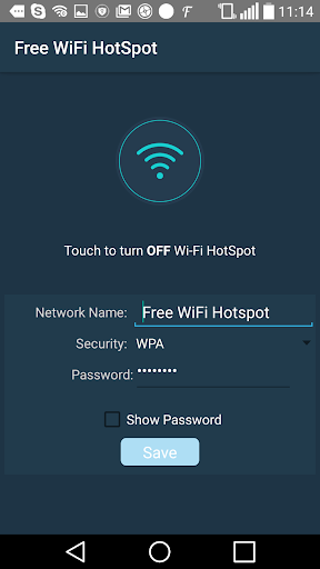 Free Wifi Hotspot - Wifi screenshot