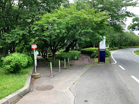 盛岡手づくり村前バス停