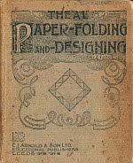 "Photo: The ""AL"" paper-folding and designing Z.Ford E.J.Arnold 1899 hardback   The book has a focus on geometrical patterns and shows how to derive an equilateral triangle."