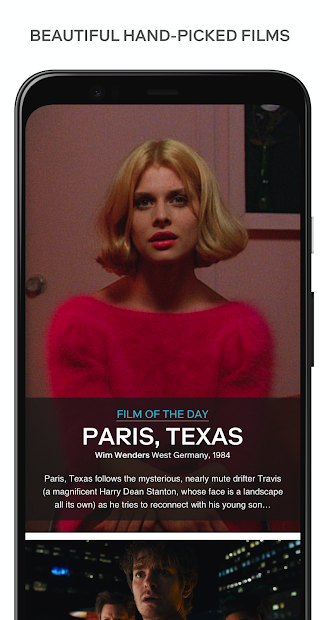 MUBI — Curated Cinema Android App Screenshot