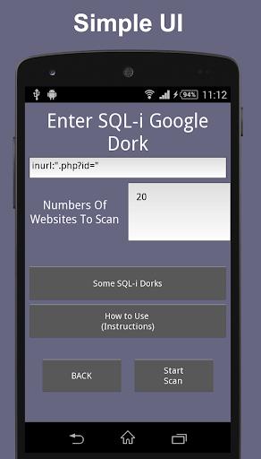 Web SQL-i 1 0 Apk Download - websqli technhack in web_sqli