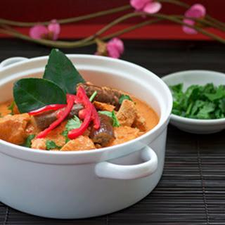 Thai Red Chicken Curry (Gaeng Khiao Wan Gai)