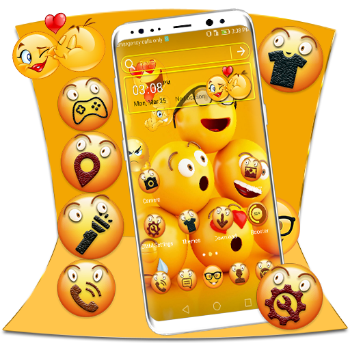 Cool Emoji Launcher Theme Android APK Download Free By Studio Five Inc