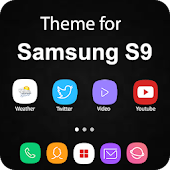 Theme for Samsung S9, Galaxy s9 Launcher