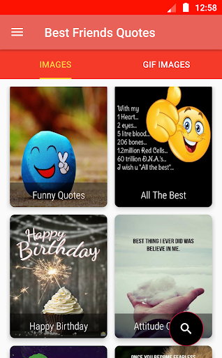 Best Friends Quotes: Friendship Quotes, Status GIF screenshots 3