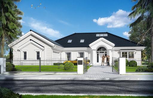 projekt domu Rezydencja Parkowa 3