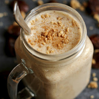 Salted Caramel Cookie Dough Smoothie