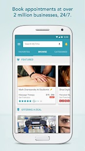 MyTime: Appointments Made Easy Screenshot 1