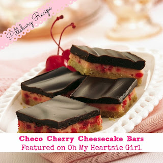 Cherry Cheesecake Bars Recipes