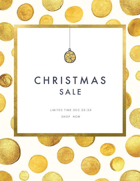 Limited Time Christmas Sale - Christmas Template
