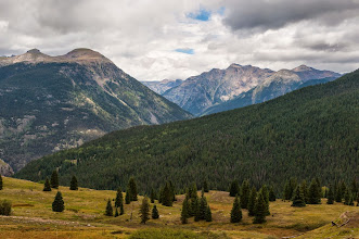 Photo: Along Million Dollar Highway, north of Durango, Colorado