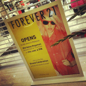Launch today #forever21 #launching #midvalley by Zul Izreka - Instagram & Mobile Instagram