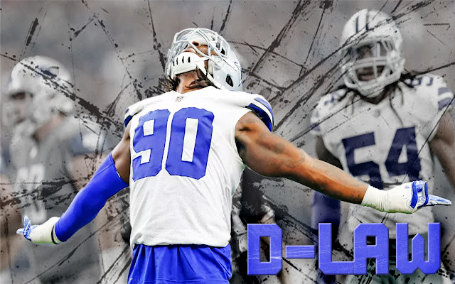 DeMarcus Lawrence Themes & New Tab
