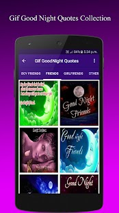 Gif GoodNight QuotesCollection - náhled