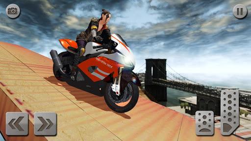 impossible rampe moto vu00e9lo cavalier super-hu00e9ros  captures d'u00e9cran 2