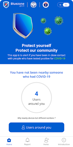Bluezone - Contact detection 3.0.1 Screenshots 1