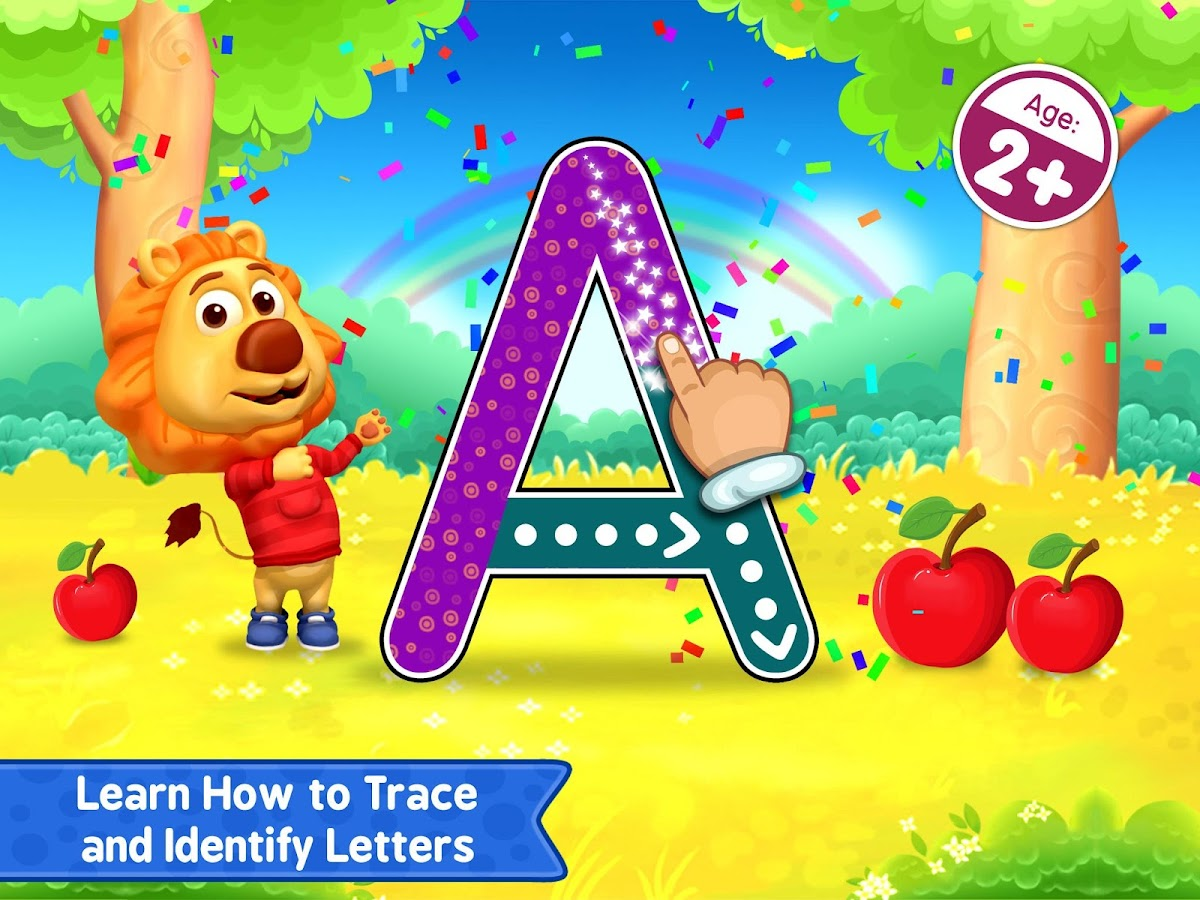 Screenshots of ABC Kids - Tracing & Phonics for iPhone