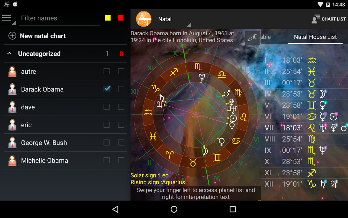 AstroTab Pro- screenshot