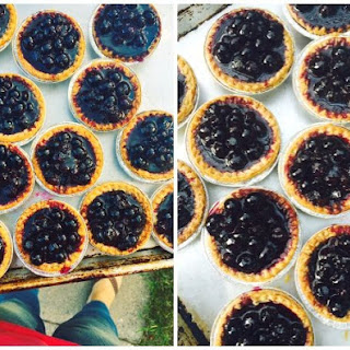Super Simple Blueberry Tarts