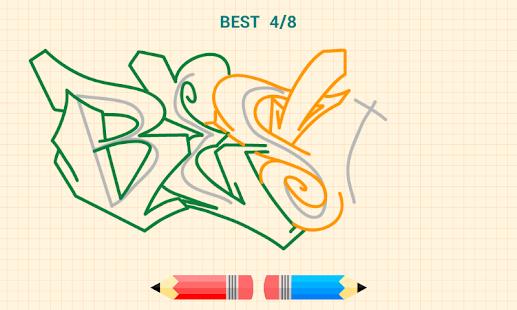 グラフィティを描く方法