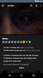 FANDOM for: Grimm - náhled