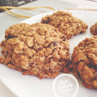 Chewy Oatmeal Raisin Cookies (low-sugar, gluten-free option)