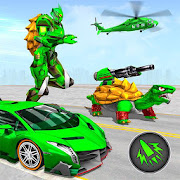 Turtle Robot Animal Rescue – Robot Car Transform MOD APK 1.9 (Mega Mod)