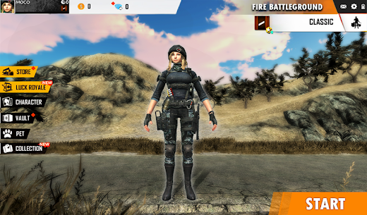 Fire Free Battleground Survival Hopeless Squad App Latest Version  Download For Android 9