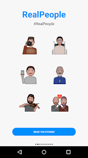 Refugee Emojis Keyboard- screenshot thumbnail