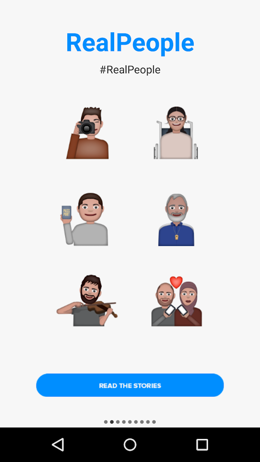 Refugee Emojis Keyboard- screenshot