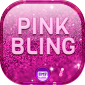 Pink Bling SMS Theme