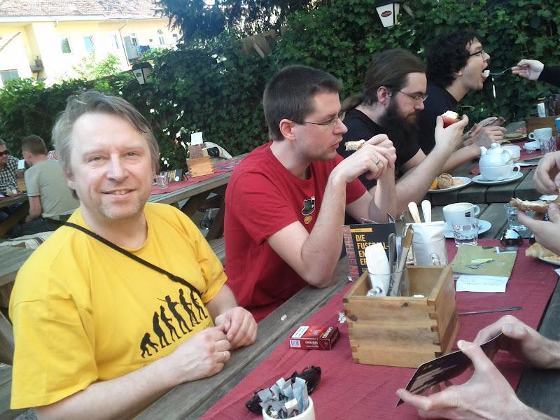 Photo: Linuxtag Graz 2012 Brunch