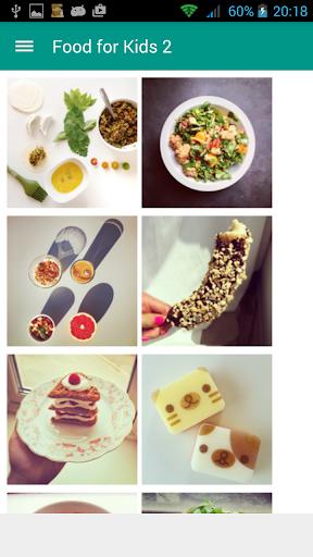 無料生活Appの子供のための食品|記事Game