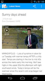 KARE 11- screenshot thumbnail