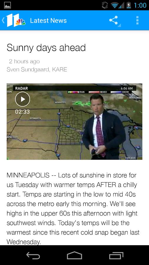 KARE 11- screenshot