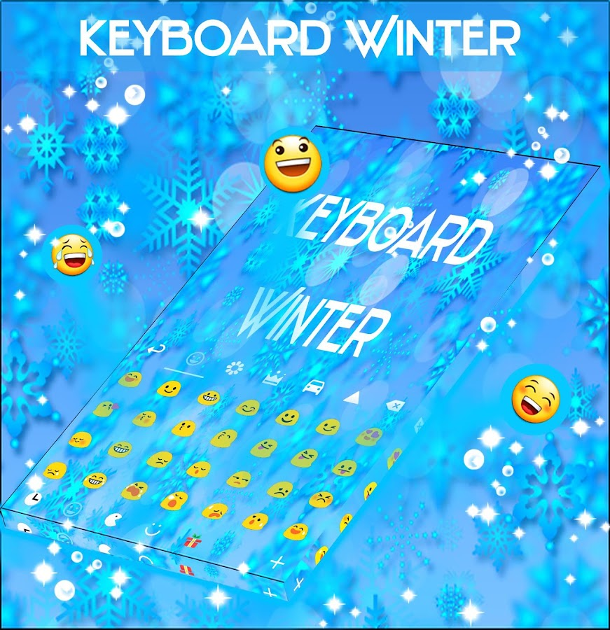 GO Keyboard Winter Themes- screenshot