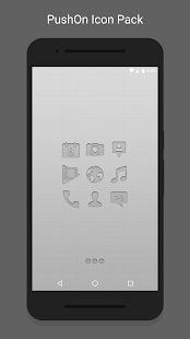 PushOn - Icon Pack Screenshot 1