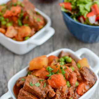Instant Pot Beef Stew.