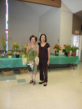 Photo: Phần thắng thuộc về cô Tưởng Kim Xuyến với cây lan Dendrobium thrysiflorum - Lan Thủy Tiên.