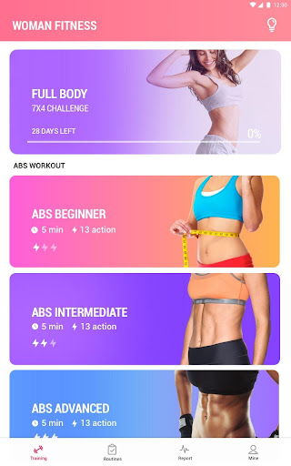 Women Workout at Home - Female Fitness 1.1.8 screenshots 6