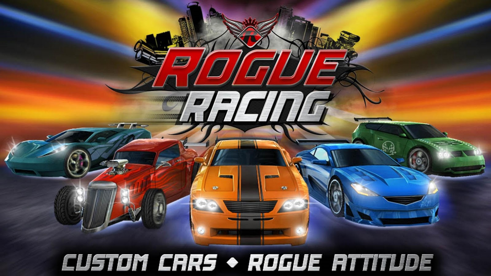 Rogue Racing- screenshot