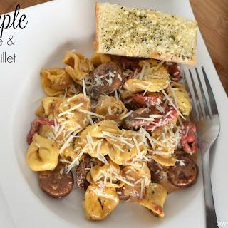 Simple Sausage & Pasta Skillet