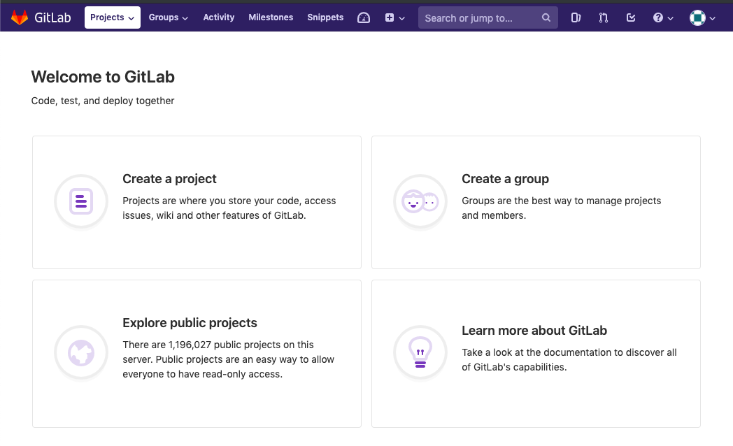 Create a GitLab Project and Clone DreamHouse Unit | Salesforce