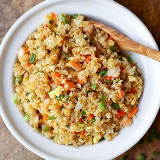 Easy Shrimp Fried Rice.