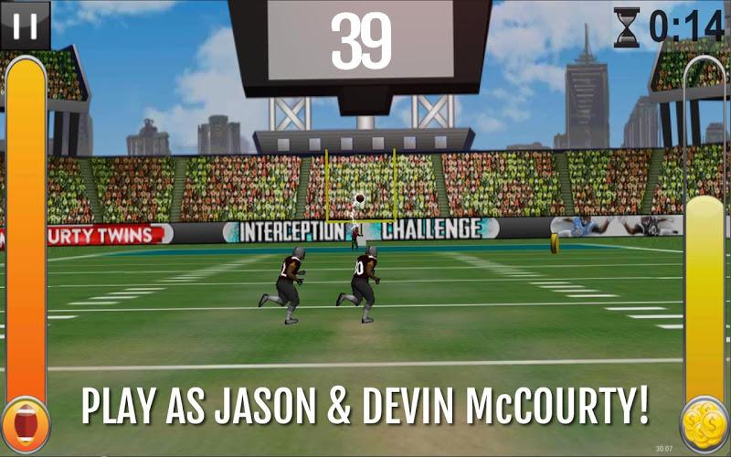 Скриншот McCourty Twins: INT Challenge