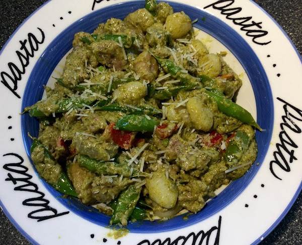 Creamy Pesto Gnocchi With Italian Sausage Recipe