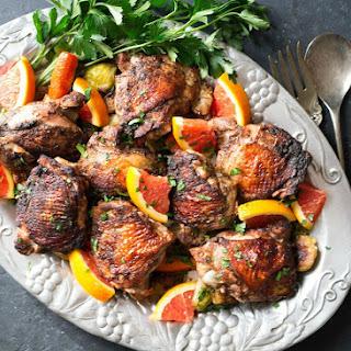 Baked Orange Chicken Thighs Recipes